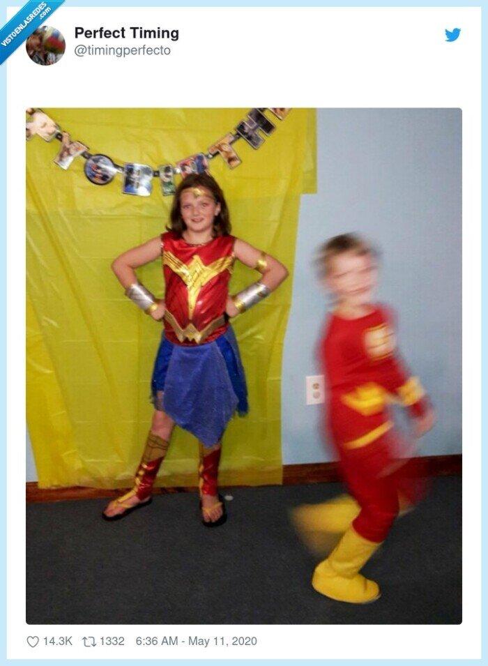 disfraces,flash,wonderwoman