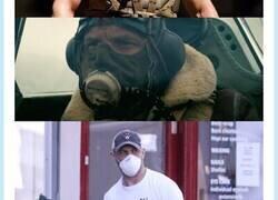 Enlace a Primer famoso que usa máscara para que le reconozcan por la calle, por @fuertecito