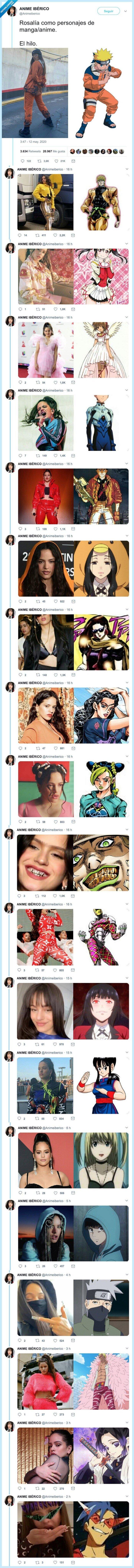 anime,personajes,rosalía