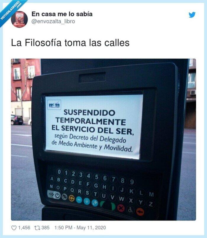 calles,cartel,filosofía,servicio,tomar