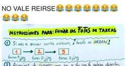 Enlace a Una profesora manda instrucciones de como entregar las tareas pero la caga tremendamente dando ejemplo, por @ERCALATRAVA