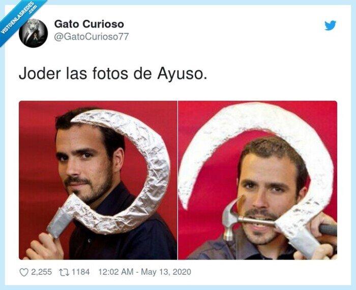 comunismo,fotos,garzón,payaso