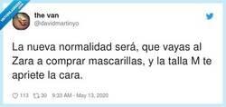 Enlace a La nueva normalidad de Zara, por @davidmartinyo