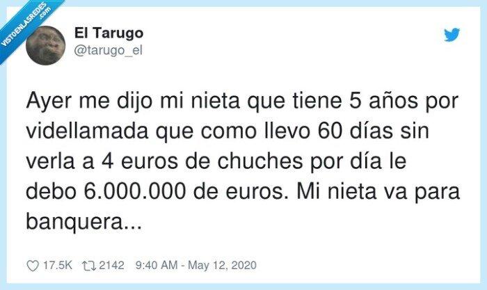 6000000,banquera,chuches,nieta,videllamada