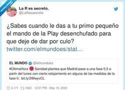 Enlace a Nos van a levantar restricciones antes de tiempo, porque los pijos más pijos de Madrid mandan, por @LaRessecreto