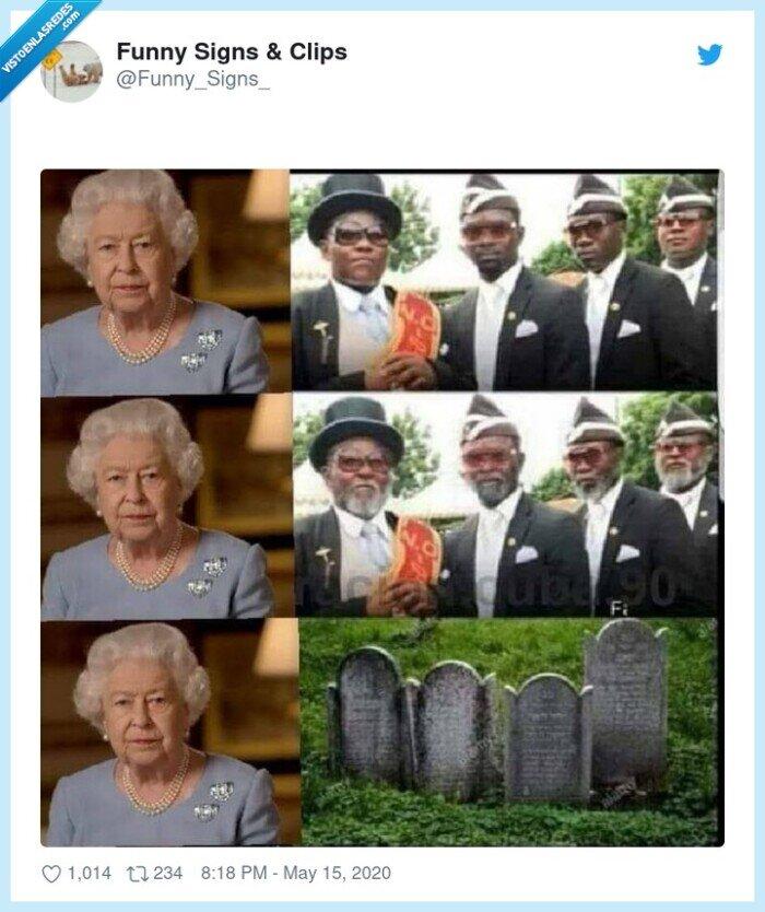 coffin meme,dep,isabel II de inglaterra