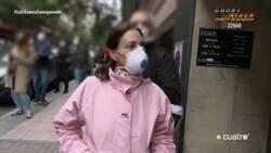 Enlace a Esta mujer del barrio de Salamanca es profesora y piensa que el coronavirus se lo han inventado para llevarnos a la crisis, por @manuelburque