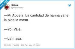 Enlace a La masa no dice nada, por @cracacraca