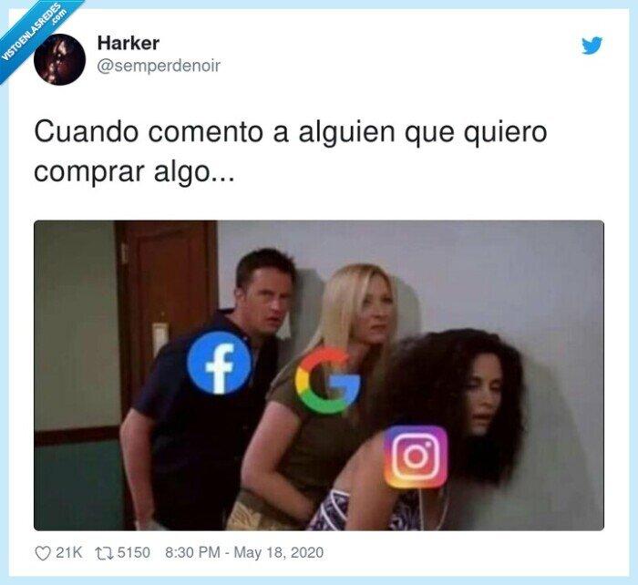 alguien,comento,comprar,escuchar,facebook,google,instagram