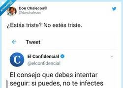 Enlace a No te infectes, por @donchalecos