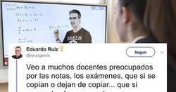 Enlace a La reflexión de un profesor que creemos que no puede tener más razón, por @ejruizgarcia