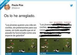 Enlace a Viva la precariedad, por @pppua