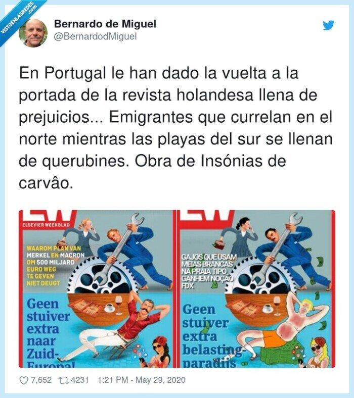 592740 - Lo han tenido que hacer los portugueses otra vez, nosotros no tenemos amor propio, por @BernardodMiguel