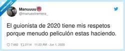 Enlace a Tremendo, esperando que haya trilogía, por @manuextremera_
