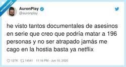Enlace a Netflix creando asesinos en serie desde 1997