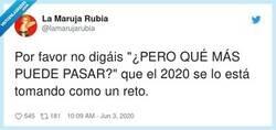 Enlace a No retes a 2020, por @lamarujarubia