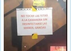 Enlace a El cartel de un bar que han tenido que quitar por machista, por @wenwhy