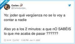 Enlace a Ni un minuto aguanto yo, por @Carlostorrijos_