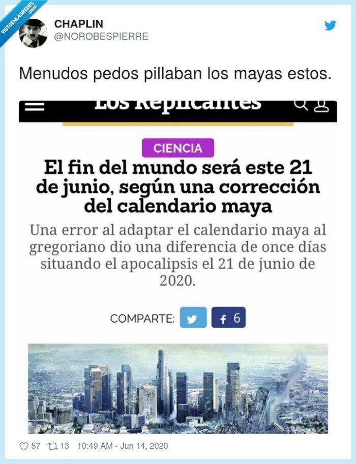 2020,fin del mundo,junio,mayas