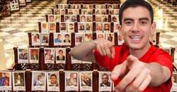 Enlace a Una imagen de Jordi El niño poIIa se cuela en un homenaje religioso a las víctimas del coronavirus