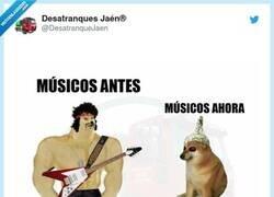 Enlace a Músicos antes y ahora, por @DesatranqueJaen
