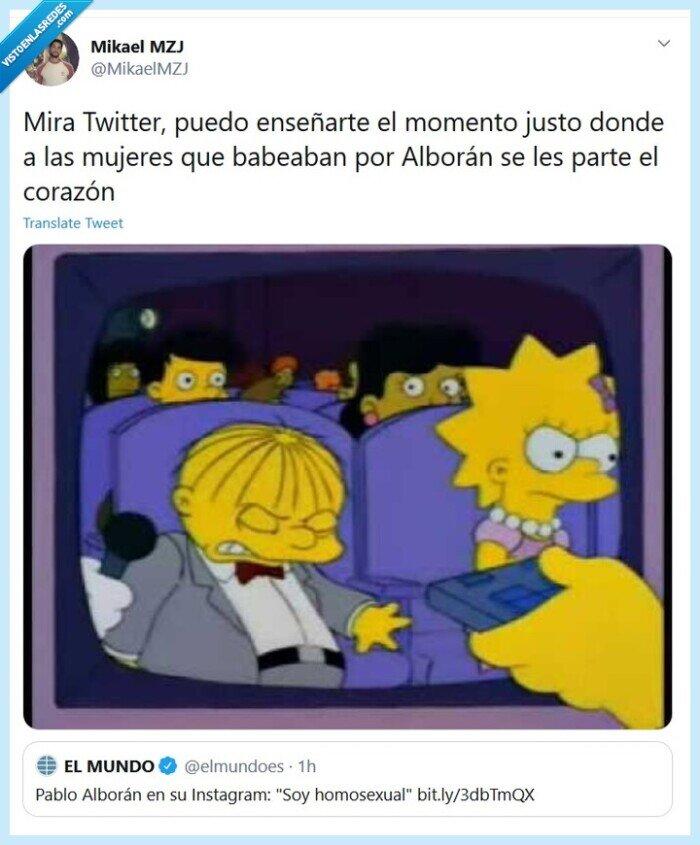 Fans,Homosexual,Mujeres,Pablo Alborán,Romper Corazón