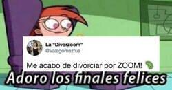 Enlace a El tweet viral de una mujer que se divorcia por Zoom: