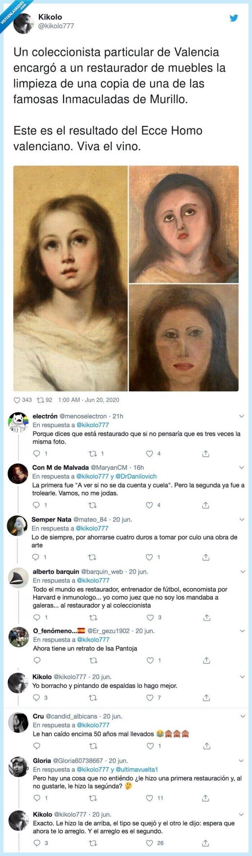 coleccionista,ecce homo,inmaculadas,particular,restaurador,restaurar,valenciano
