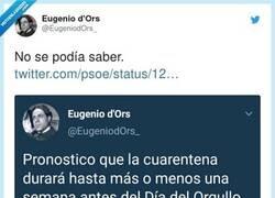 Enlace a Eres un visionario, por @EugeniodOrs_