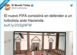 Enlace a El FIFA preferido por los abogados, por @elmundotoday