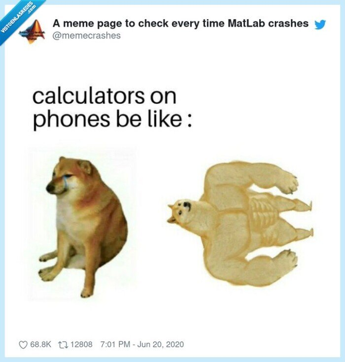 calculadora,cheems,doge