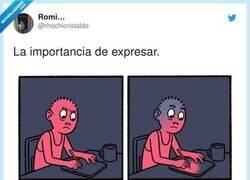 Enlace a La importancia de expresar, por @rhochicristaldo