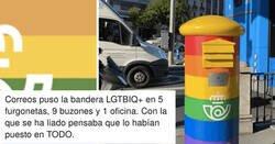 Enlace a La campaña LGBTI de Correos que muchos decían que era una ruina, lo ha petado debido a...