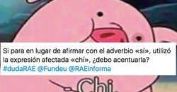 Enlace a La divertida controversia entre RAE y Fundéu sobre la expresión 'Chi' para decir