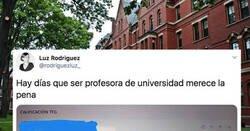 Enlace a Una profesora de universidad comparte el correo que le envió un alumno al que le dirigió su trabajo final, por @rodriguezluz_