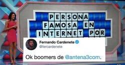 Enlace a Antena3 llama tontos a los influencers en un panel de la Ruleta de la Suerte y todo internet los manda a la guillotina, por @fercardenete