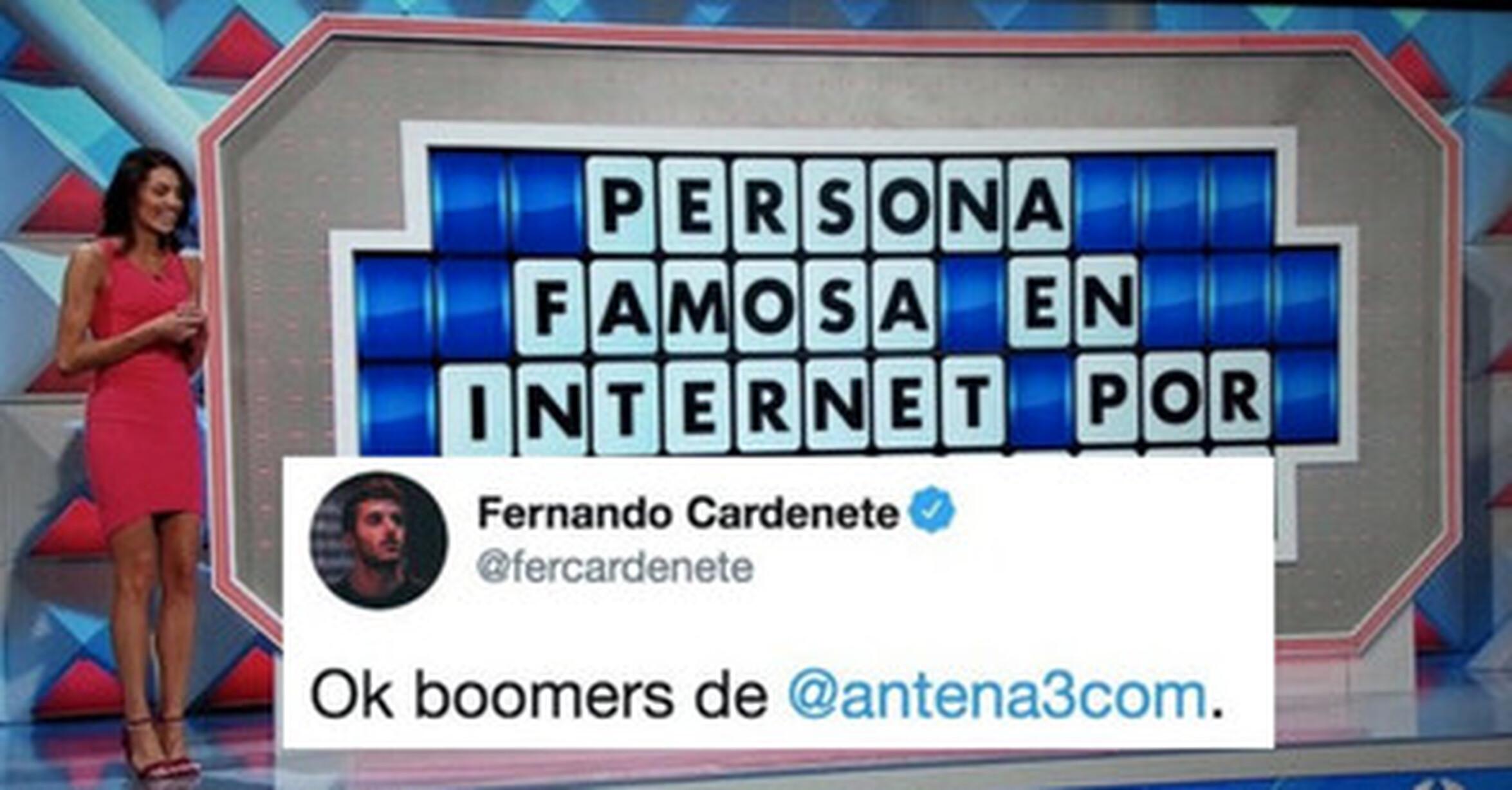 Vef Visto En Las Redes Antena3 Llama Tontos A Los Influencers En Un Panel De La Ruleta De La Suerte Y Todo Internet Los Manda A La Guillotina Por Fercardenete