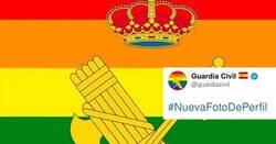 Enlace a La Guardia Civil se pone la bandera LGBTI en su escudo, y se forma la Segunda Guerra Civil en comentarios