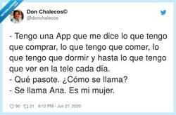 Enlace a La app Ana, por @donchalecos