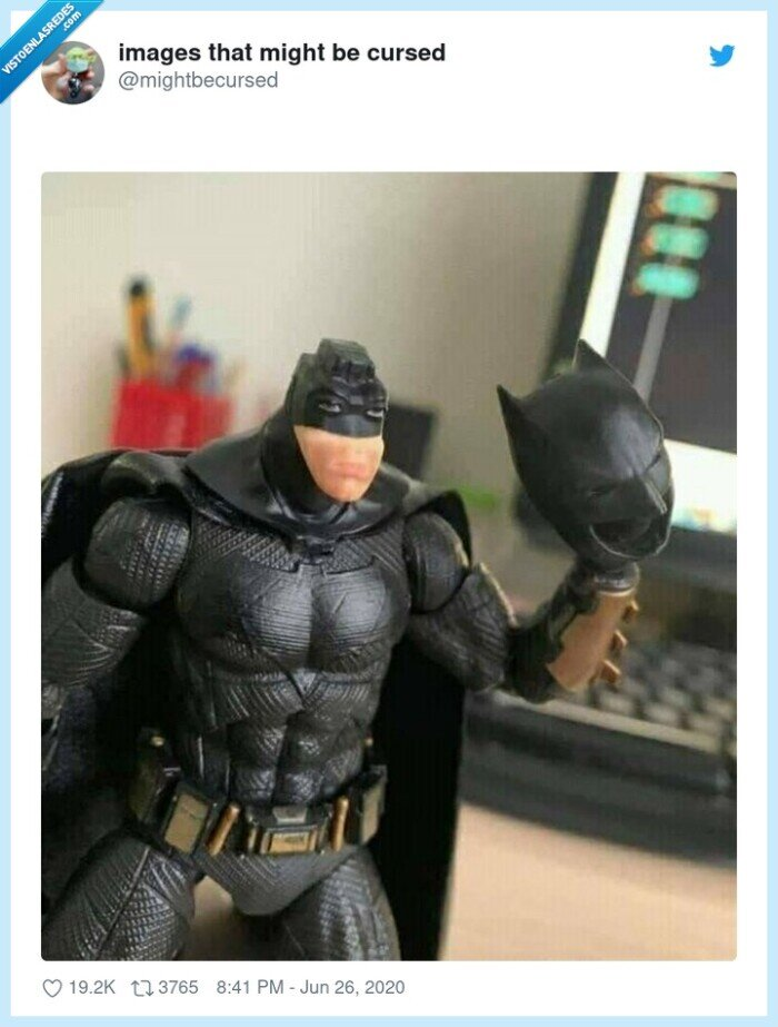 batman,derp,mascara