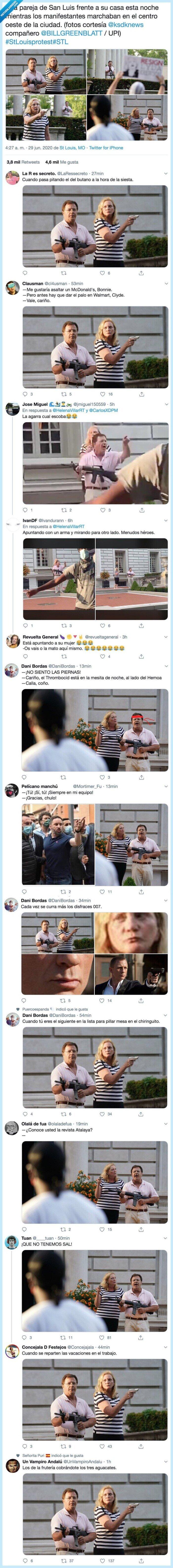 armas,memes,protesters,sant louis,stlouisprotest