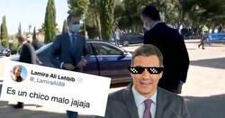 Enlace a Pedro Sánchez le hace la cobra al mismísimo Rey Felipe VI y lo deja con cara de circunstancias, por @martarubi3
