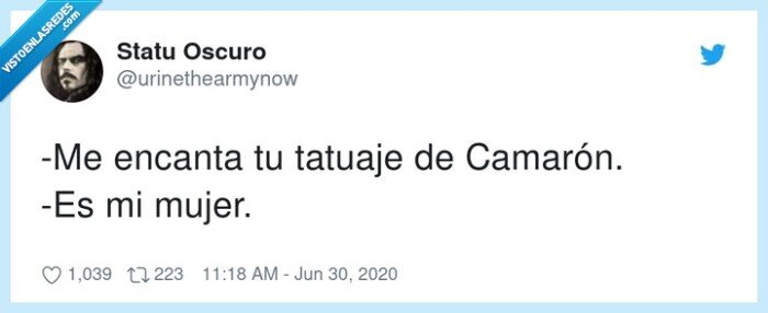 camarón,mujer,tatuaje