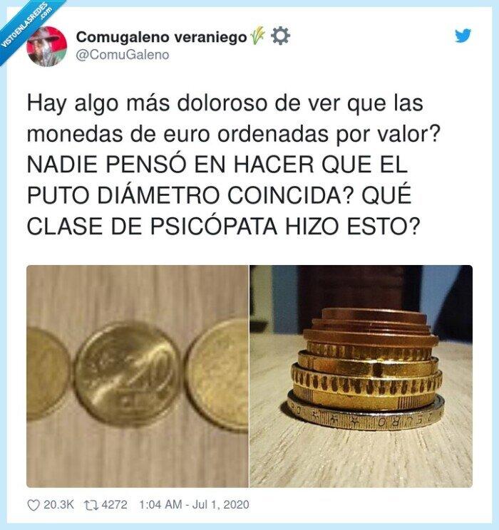 diámetro,monedas,ordenadas,psicópata