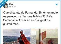 Enlace a Aznar parecía un click de famobil con bigote, por @LaPiur