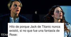Enlace a El hilo sobre Titanic que te hará el cerebro pepsicola: Jack era una fantasía de Rose y jamás existió, por @Luis_HMG