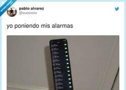 Enlace a La ruleta de las alarmas, por @sussooss