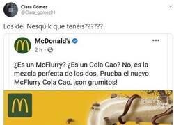 Enlace a McDonald's provoca la guerra definitiva entre los fans Nesquick y ColaCao: rescatan productos que ni recordabas que existían
