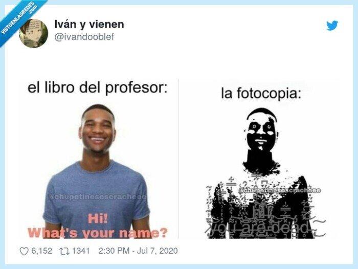 alumnos,diferencia,fotocopia,profesor