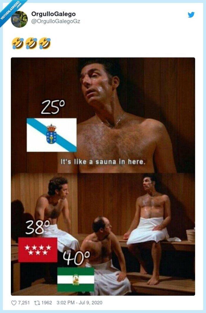andalucía,calor,galicia,madrid,quejas,sauna